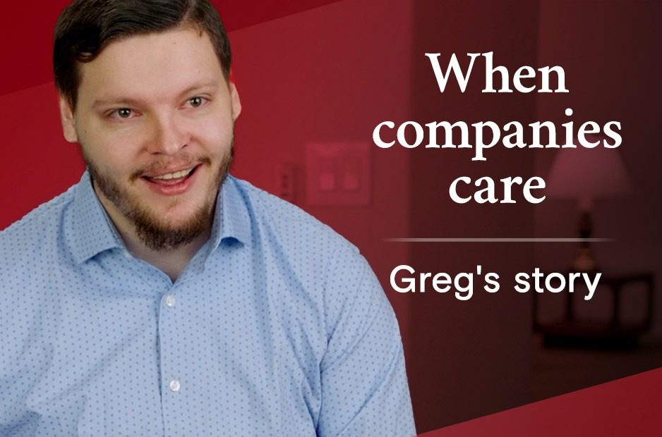 featured graphic greg employee learner success story
