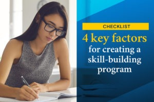 skill building program checklist header image