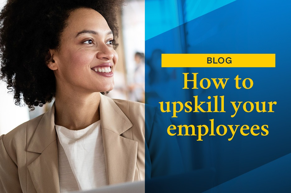 how to upskill your employees featured image for article