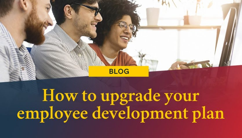 how to upgrade your employee development plan