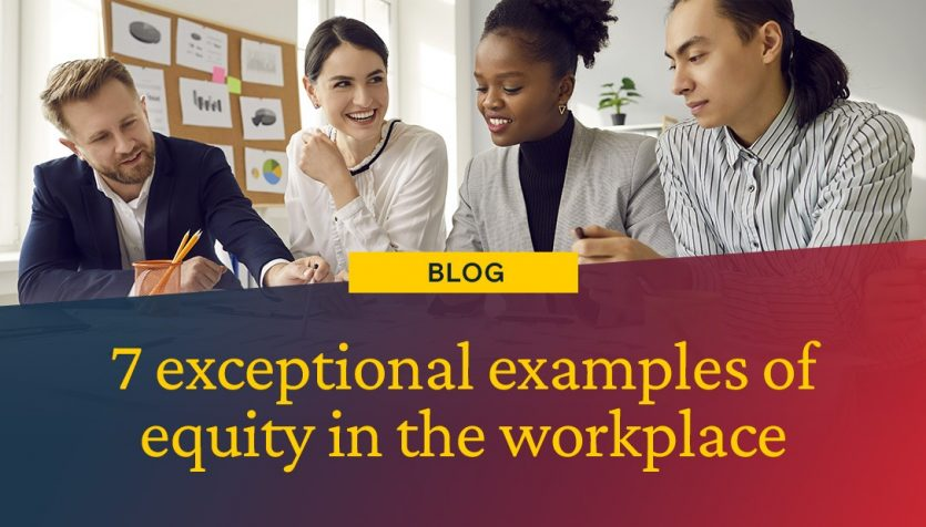 equity in the workplace header image